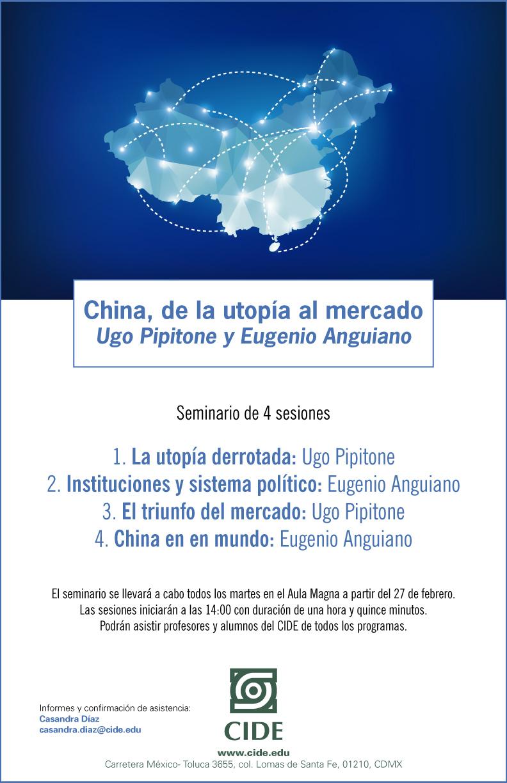 """Seminario """"China, de la utopía al mercado"""""""
