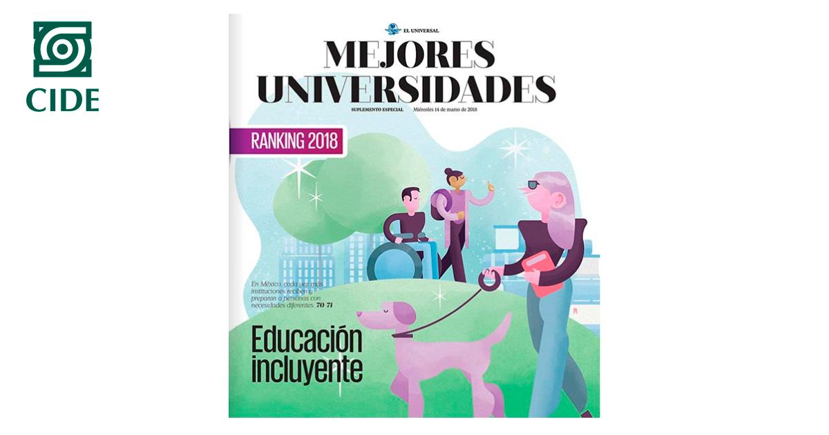 Licenciaturas de Economía y Derecho del CIDE, las mejores a nivel nacional: El Universal