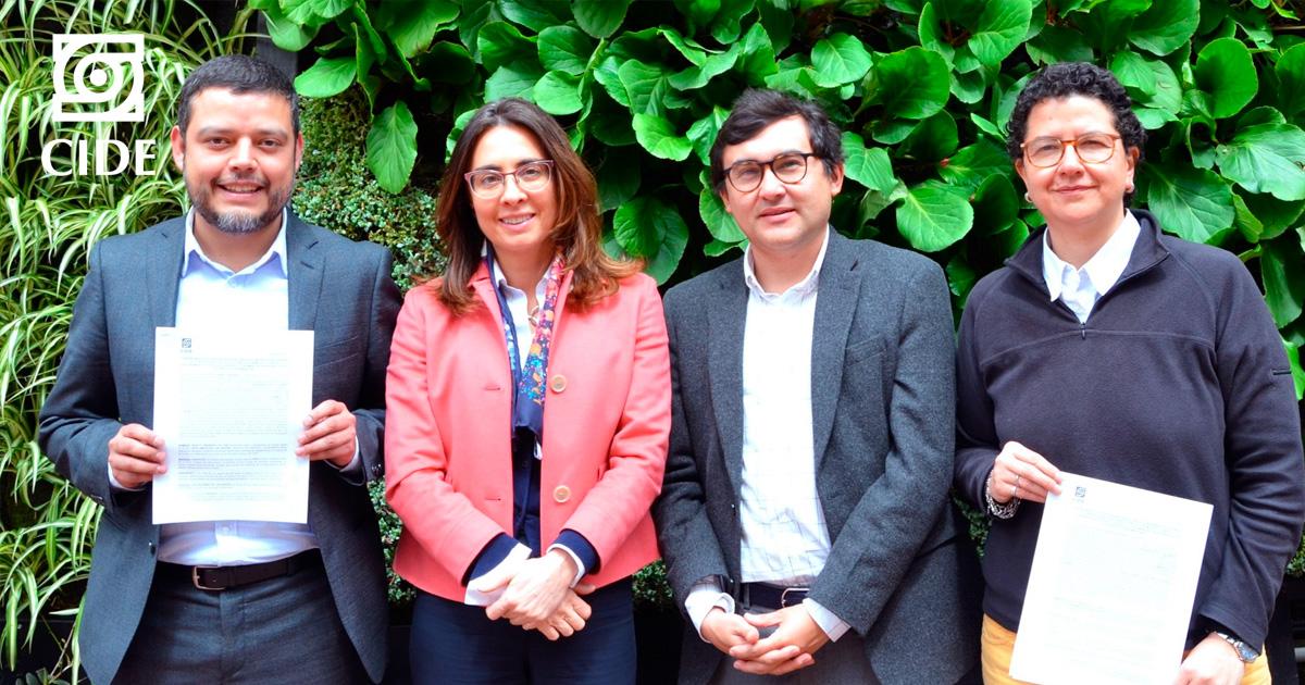 CIDE y UniAndes crean alianza para editar primera revista latinoamericana de Derecho