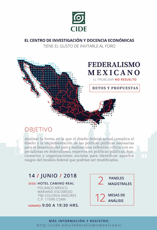 """FORO """"FEDERALISMO MEXICANO"""""""