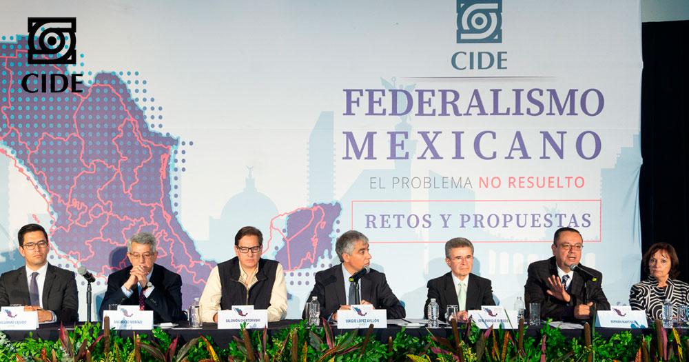Impulsa CIDE replanteamiento del Federalismo Mexicano; partidos asienten la necesidad de rediseñarlo