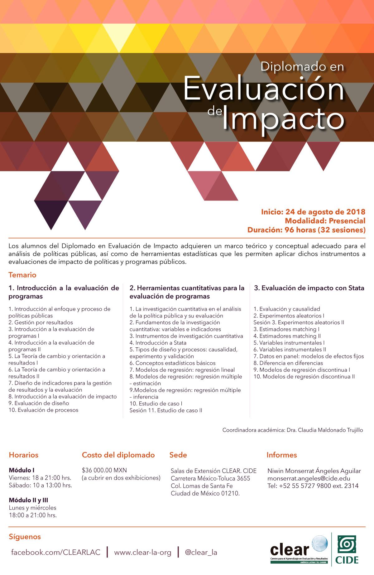 Diplomado en Evaluación de Impacto