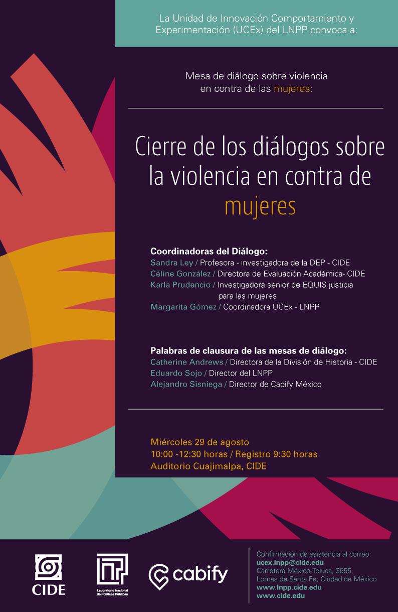 Mesa de diálogo sobre violencia en contra de las mujeres