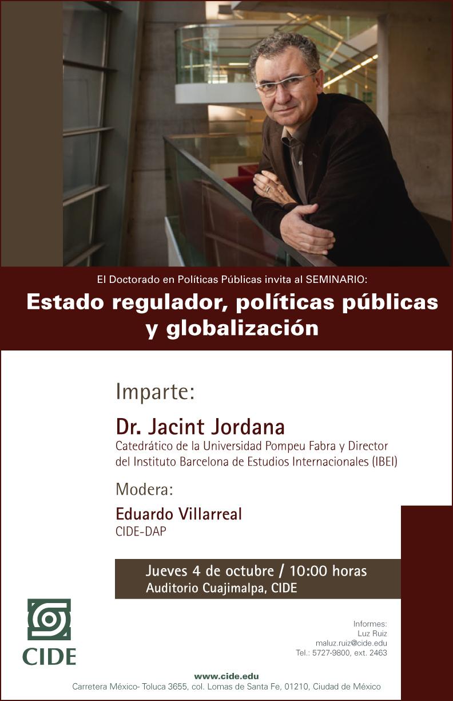 Seminario «Estado regulador, políticas publicas y globalización»