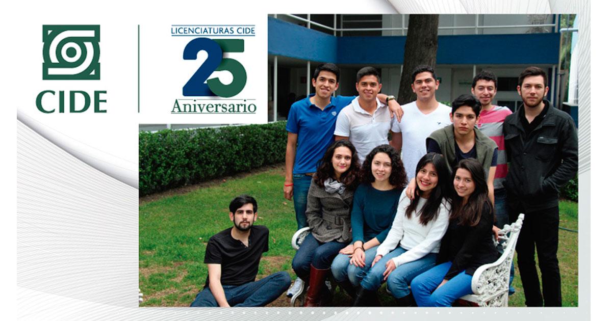 CIDE celebra 25 años de formar estudiantes a nivel licenciatura