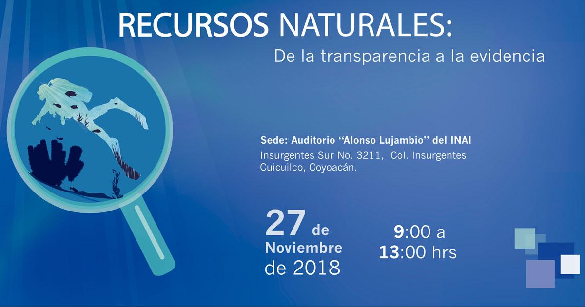 CIDE participa en Foro sobre transparencia y recursos naturales