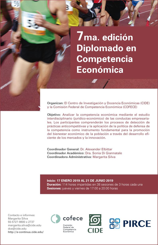 7ma. edición Diplomado en Competencia Económica