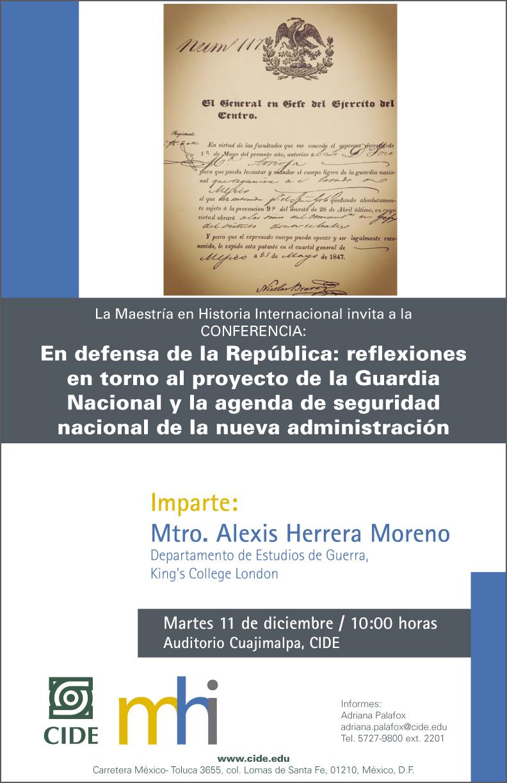 """Conferencia """"En defensa de la República"""""""