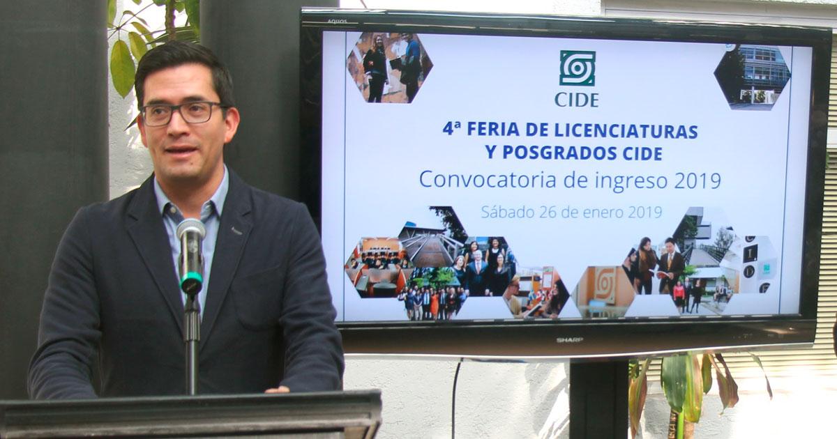 El CIDE realiza 4a Feria de Licenciaturas y Posgrados 2019