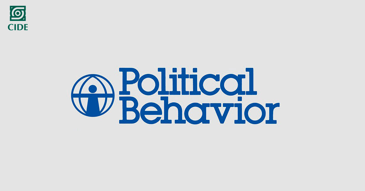 Sandra Ley formará parte del comité editorial de la revista <em>Political Behavior </em>