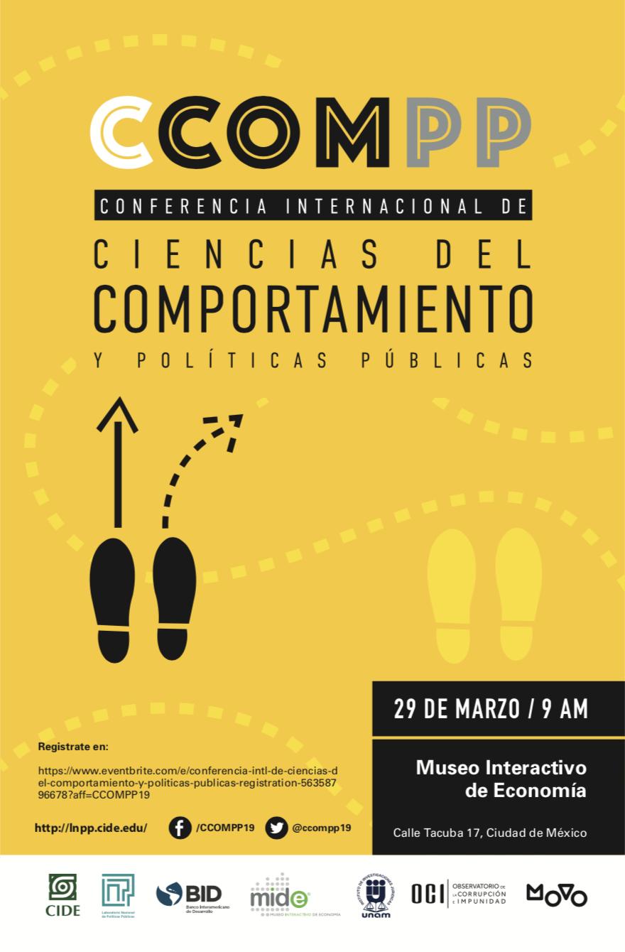 Conferencia Internacional de Ciencias del Comportamiento y Políticas Públicas