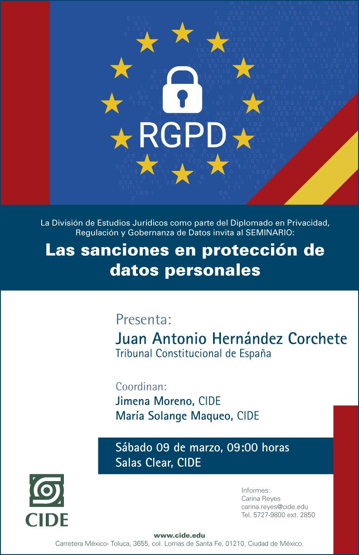 Seminario Las sanciones en protección de datos personales