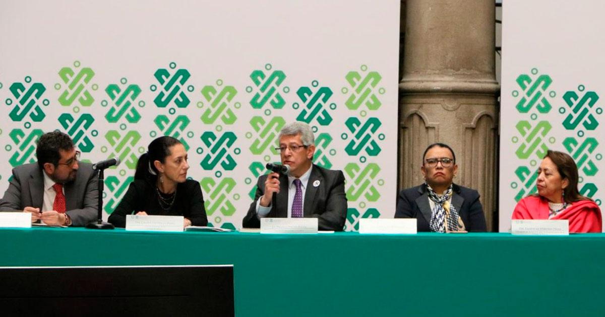 Mauricio Merino protesta como presidente del Consejo Consultivo de la Comisión para la Reconstrucción