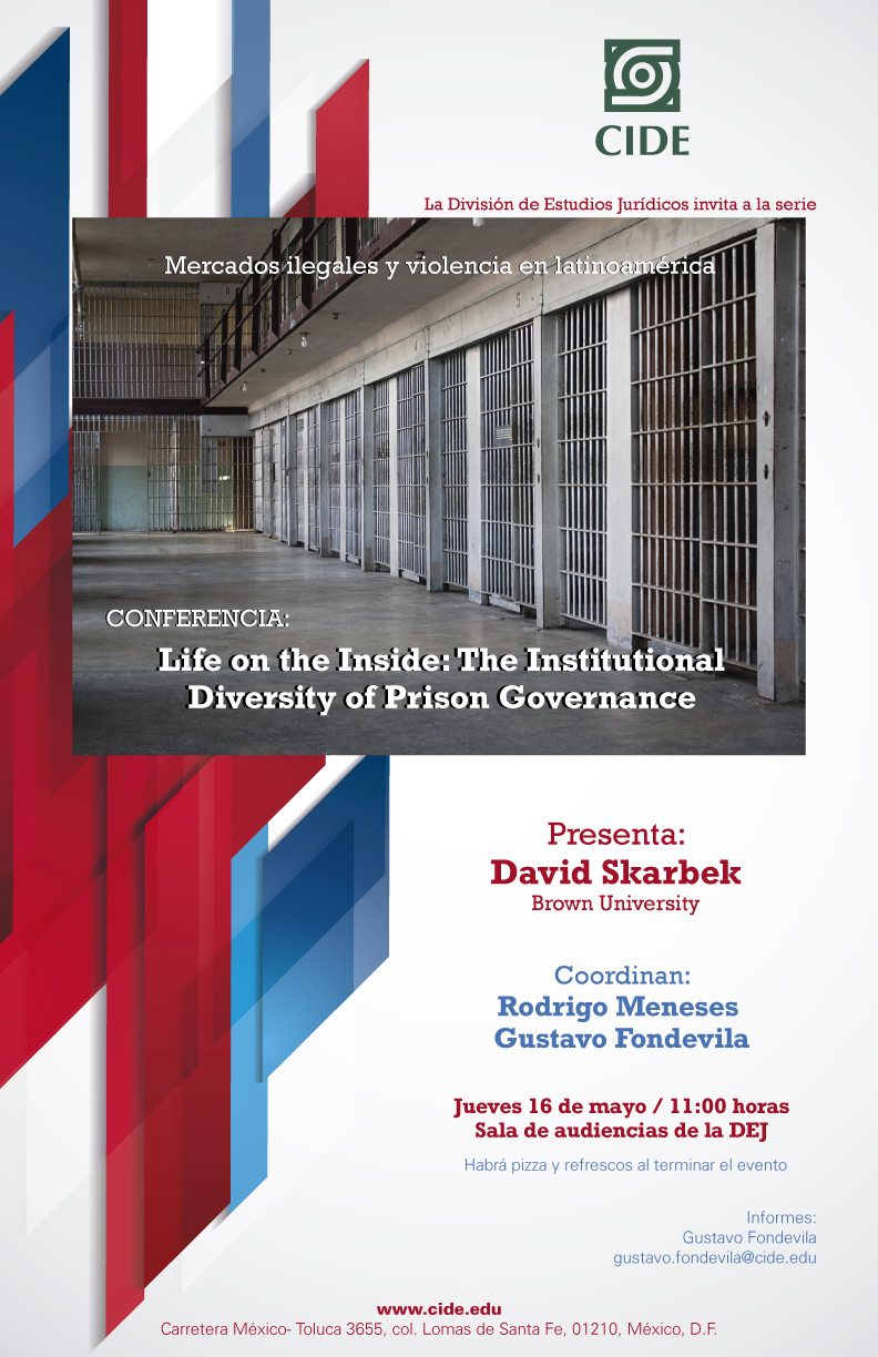 Conferencia Life on the Inside: The Institutional Diversity of Prison Governance