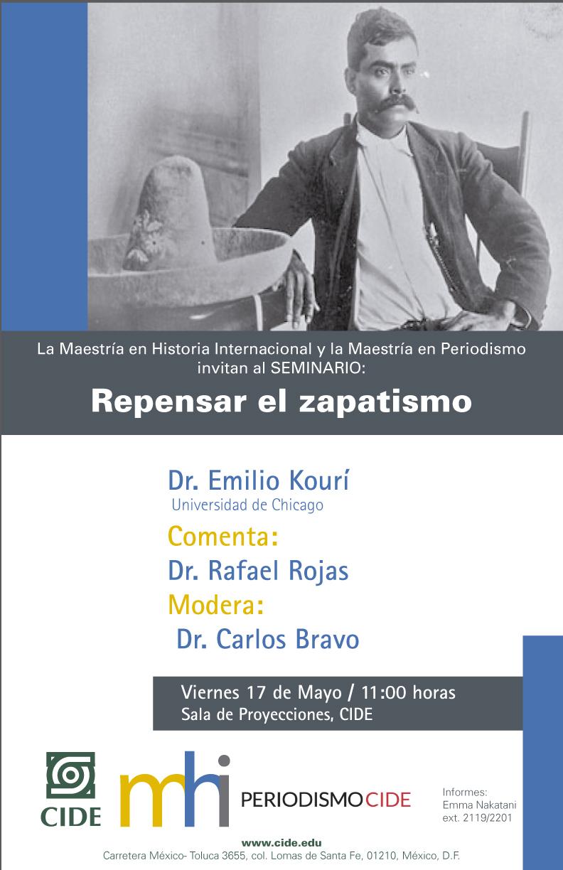 Seminario Repensar el zapatismo