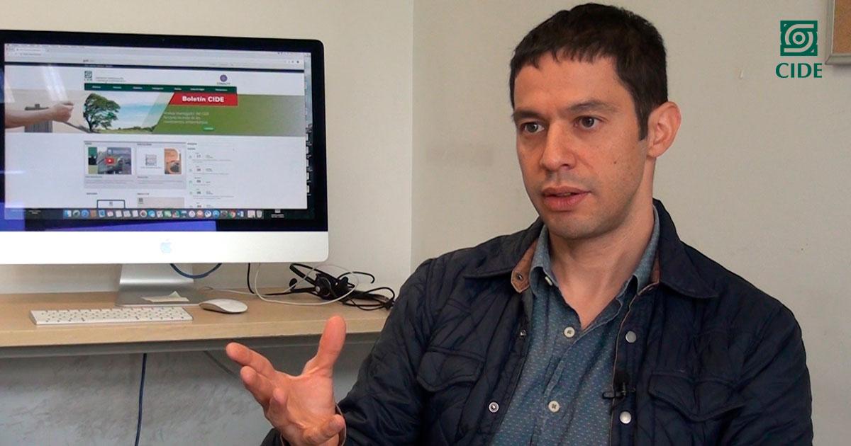 Juan Espíndola obtiene beca <em>Newton</em> para estudiar procesos de justicia transicional