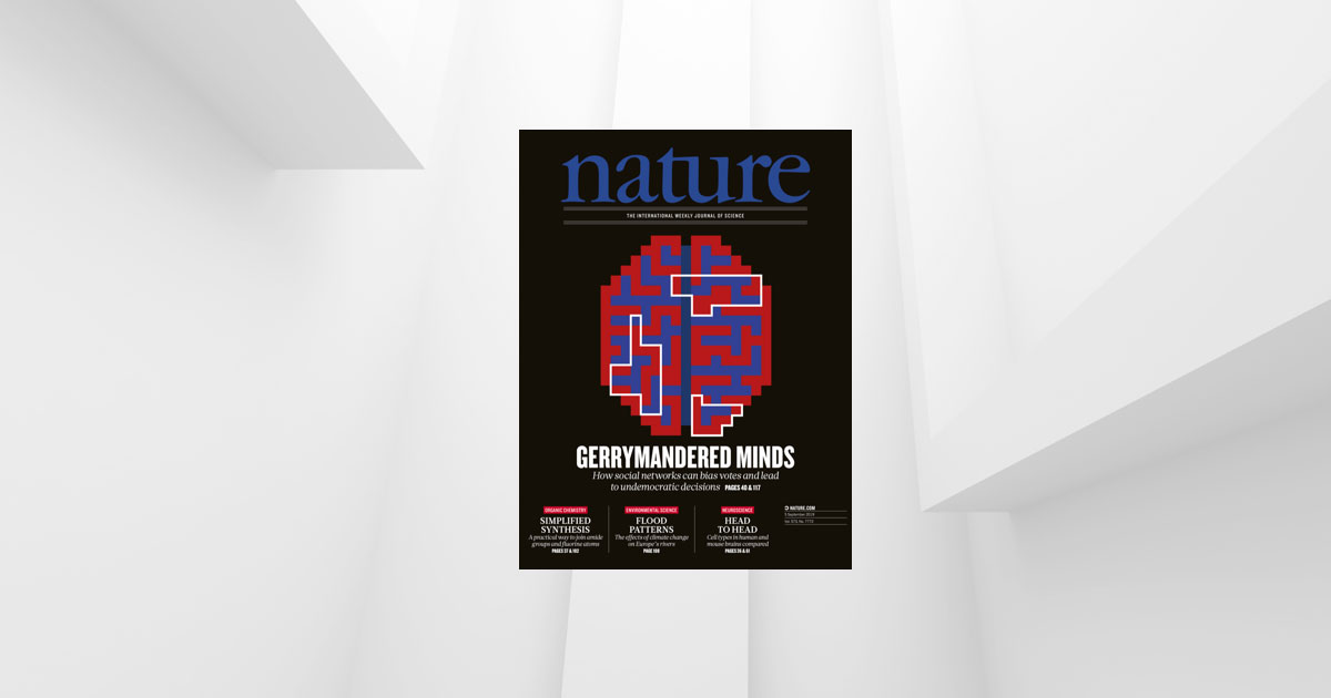 Revista <em>Nature</em> publicó en portada artículo de Antonio Arechar, profesor del CIDE