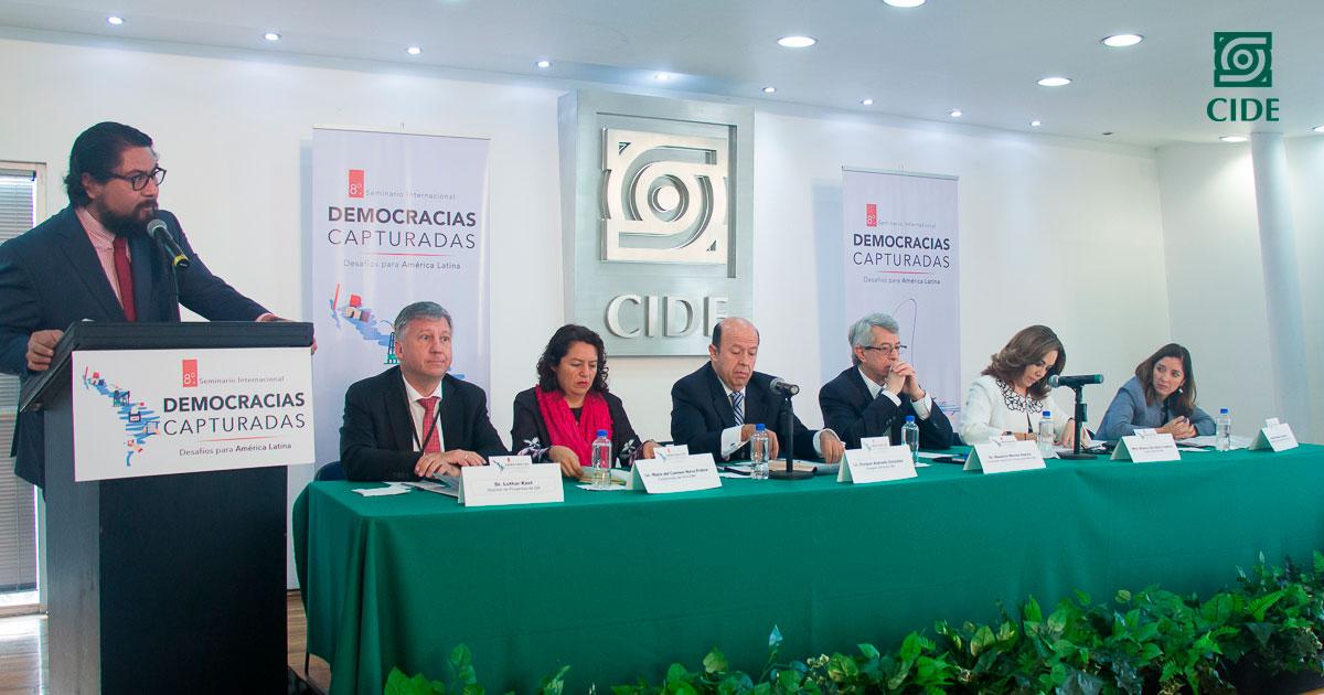 Seminario Internacional <em>Democracias capturadas</em> plantea los retos de las democracias contemporáneas