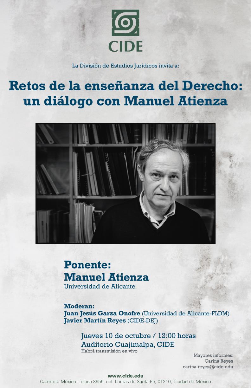 Retos de la enseñanza del Derecho: un diálogo con Manuel Atienza