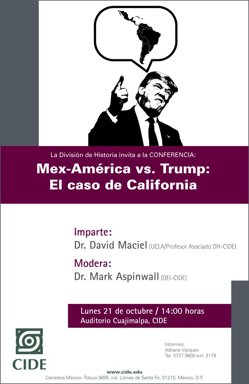 Mex-América vs. Trump: El caso de California