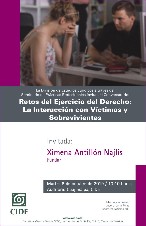Retos del Ejercicio del Derecho: La Interacción con Víctimas y Sobrevivientes
