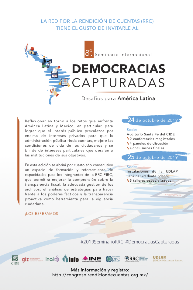 <b>Transmisión en vivo</b>  Seminario Internacional: Democracias Capturadas
