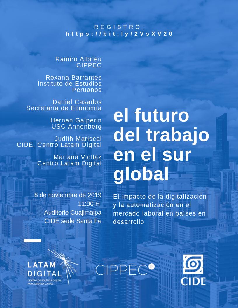 Seminario El futuro del trabajo en el sur global