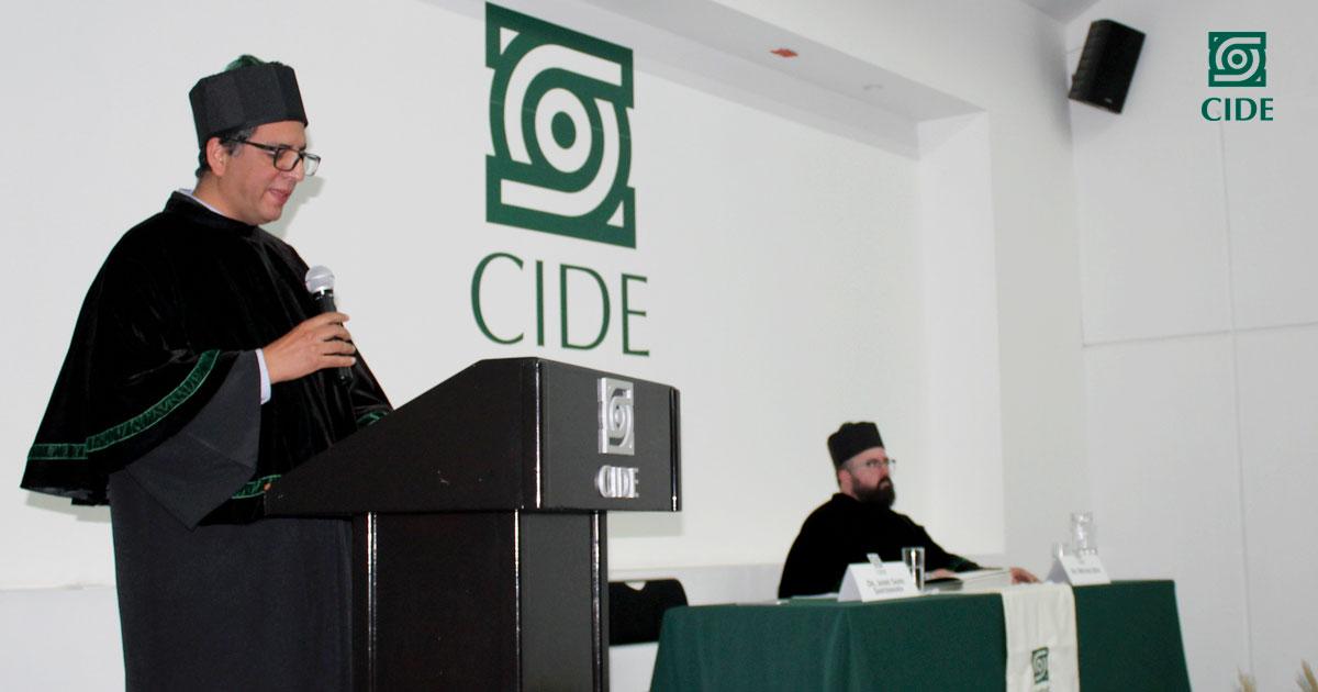 Estudiantes de la LPP y MAEA egresan de CIDE Región Centro