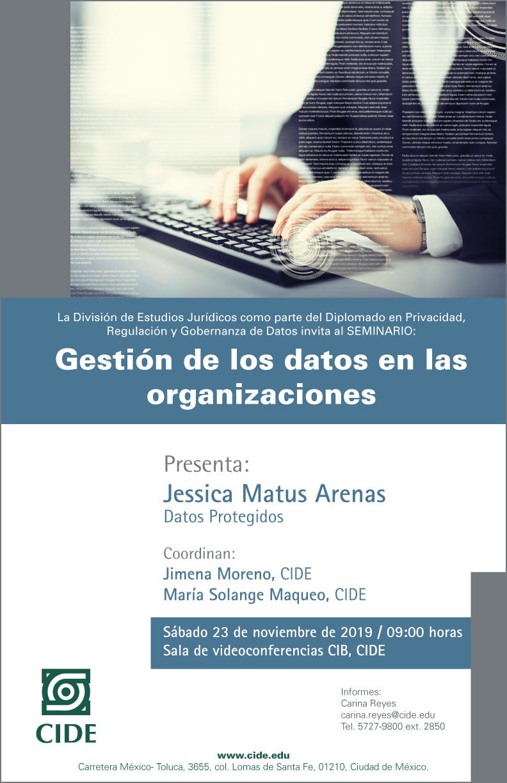 Seminario: Gestión de los datos en las organizaciones