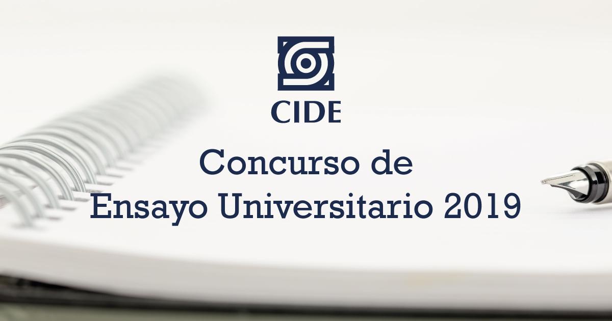 Resultados del Concurso de Ensayo Universitario 2019
