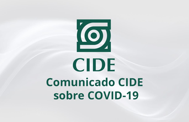Comunicado COVID-19 número 4