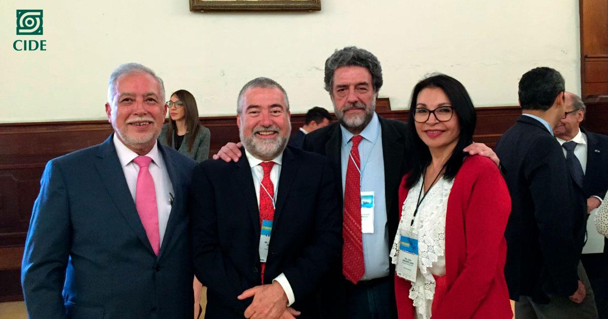 CIDE fortalece vínculos académicos con universidades centroamericanas