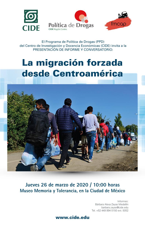 Presentación de informe y Conversatorio: La migración forzada desde Centroamérica
