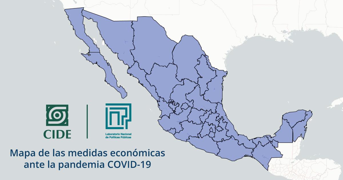 LNPP desarrolla mapa para visualizar Políticas Económicas de los estados durante emergencia COVID-19