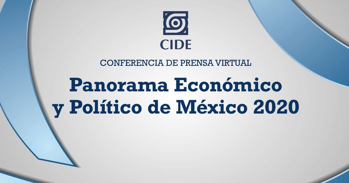 Especialistas analizan panorama económico y político tras la pandemia de COVID-19