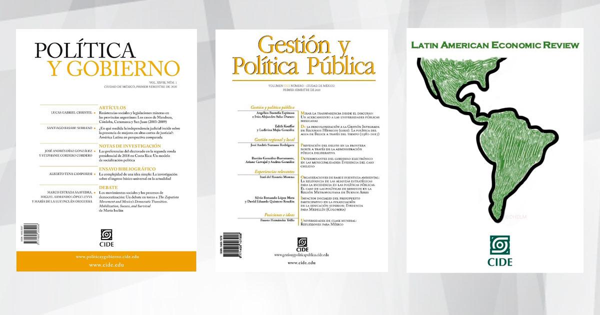 Revistas académicas del CIDE aparecen en el ranking SCIMAGO