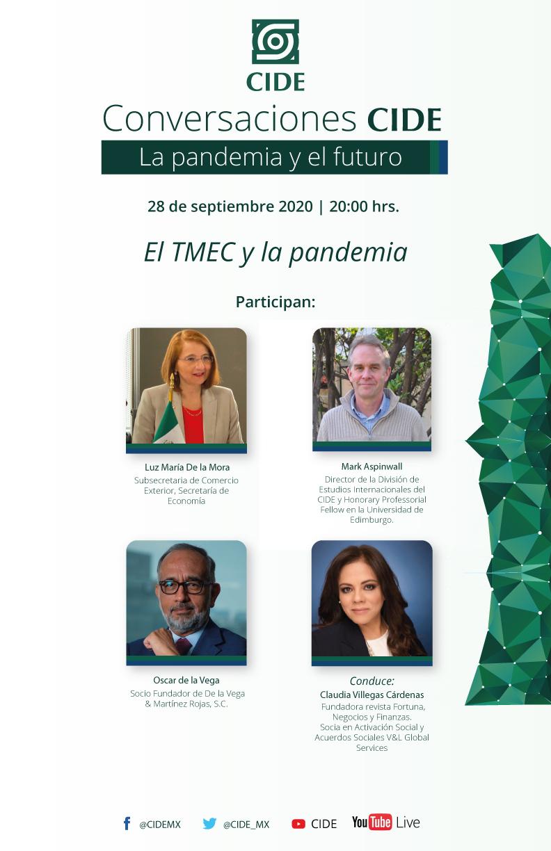 7a Sesión de CONVERSACIONES CIDE: El TMEC y la pandemia