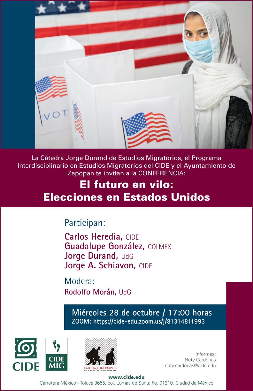 Conferencia: El futuro en vilo: Elecciones en Estados Unidos