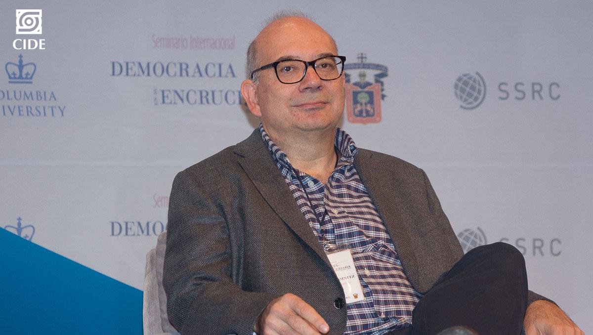 Claudio Lomnitz es nuevo miembro electo en El Colegio Nacional