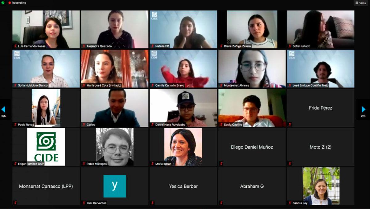 En ceremonia virtual, el CIDE celebra a sus estudiantes graduados de licenciatura