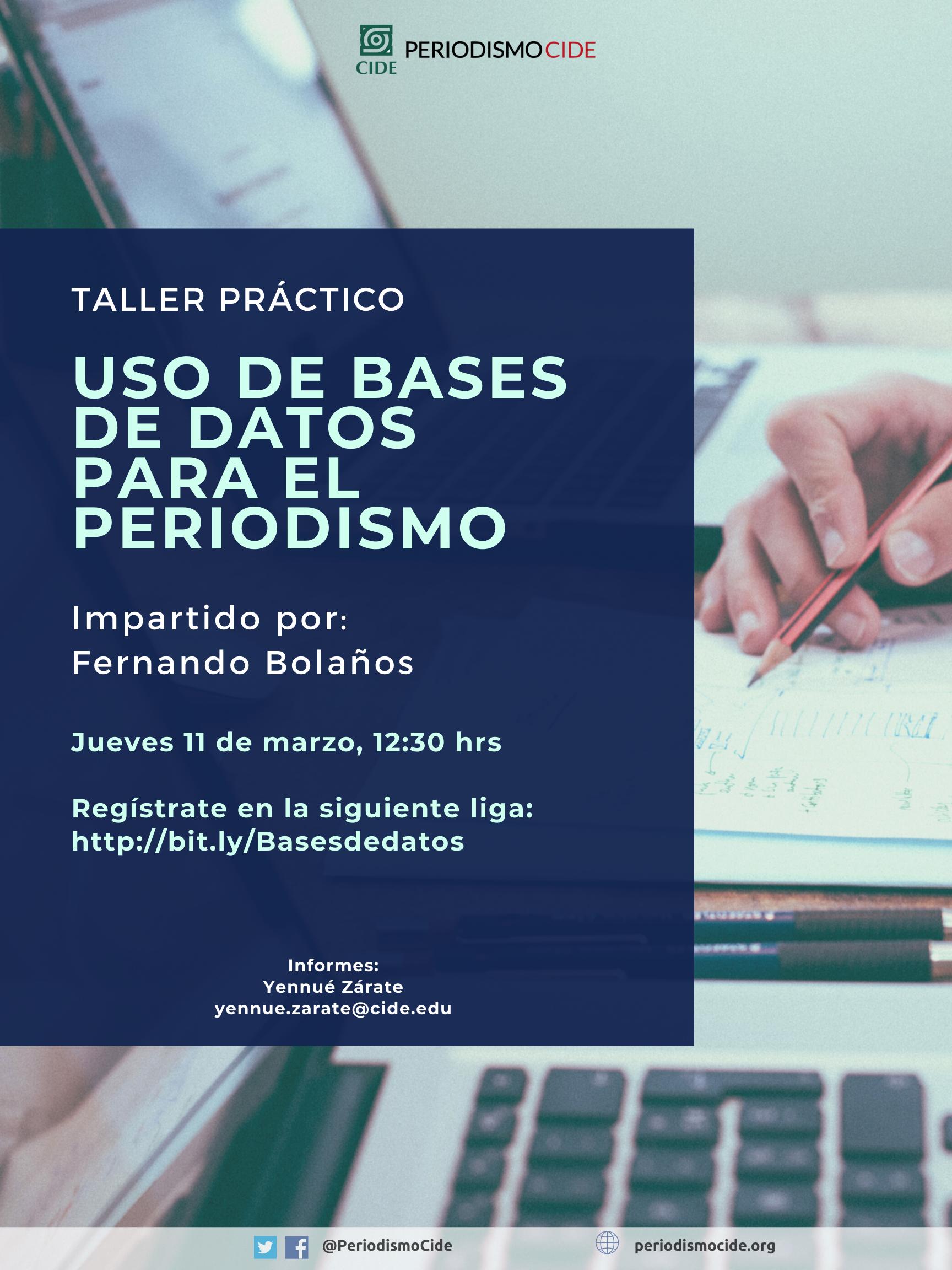Taller Práctico: Uso de Bases de Datos para Periodismo
