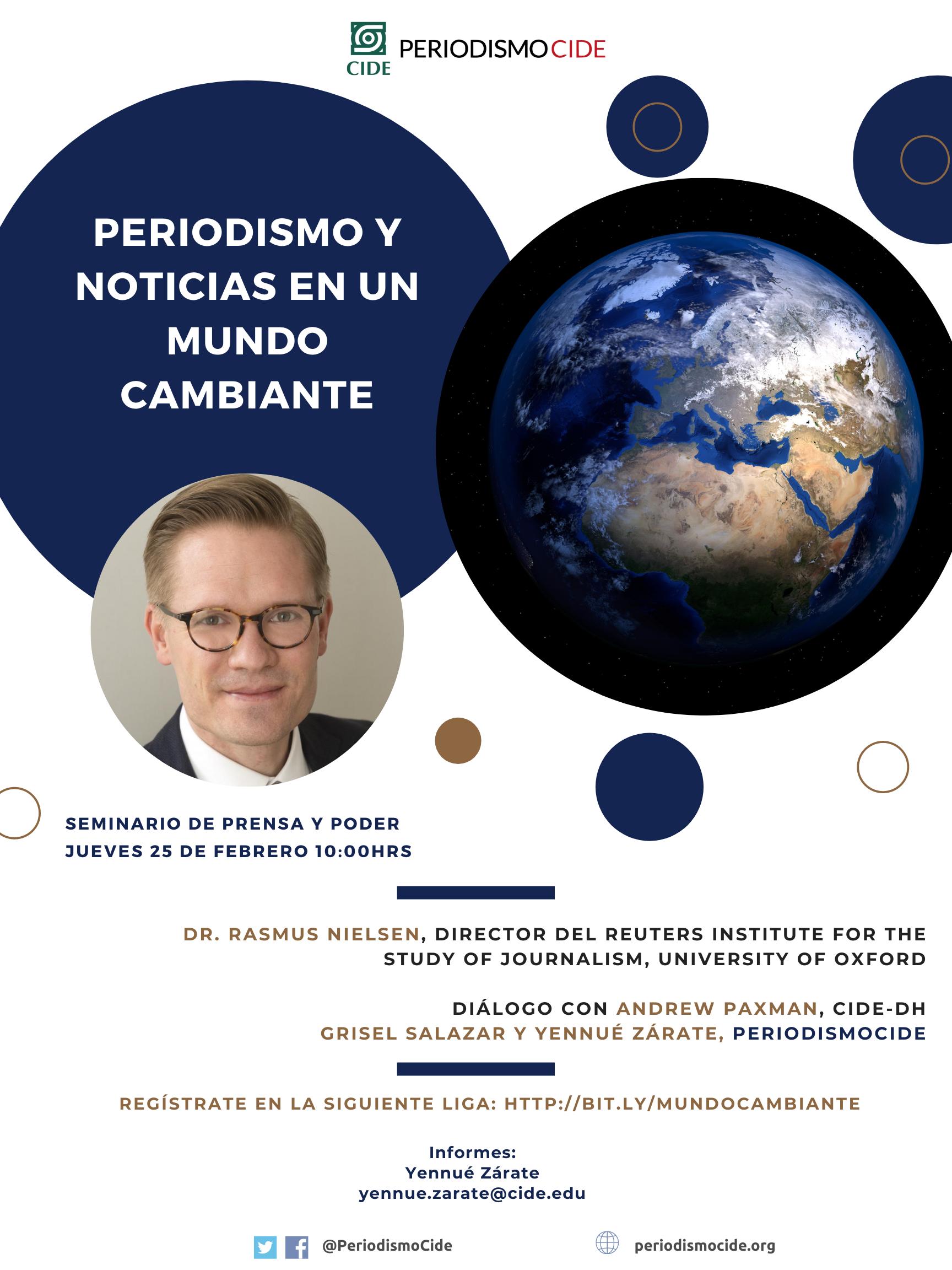 Seminario de Prensa y Poder: Periodismo y Noticias en un Mundo Cambiante