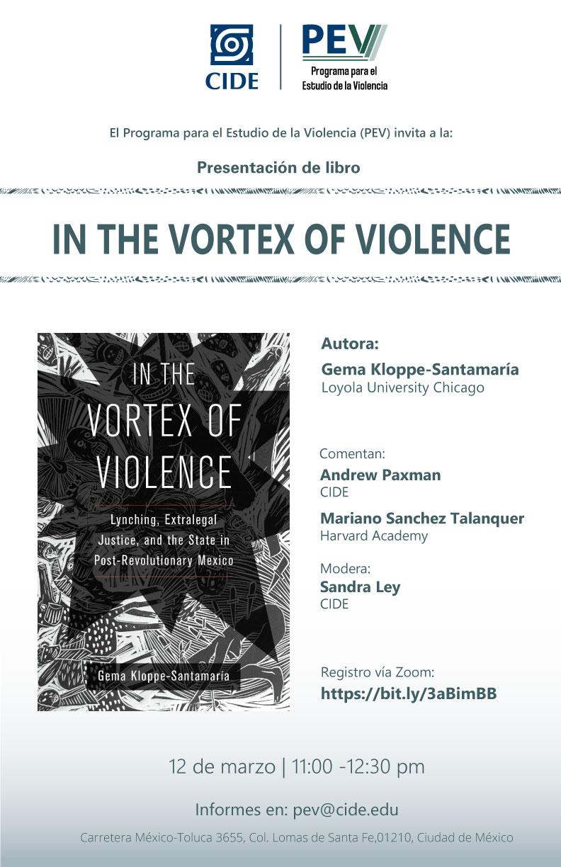 Presentación de libro: In the vortex of violence