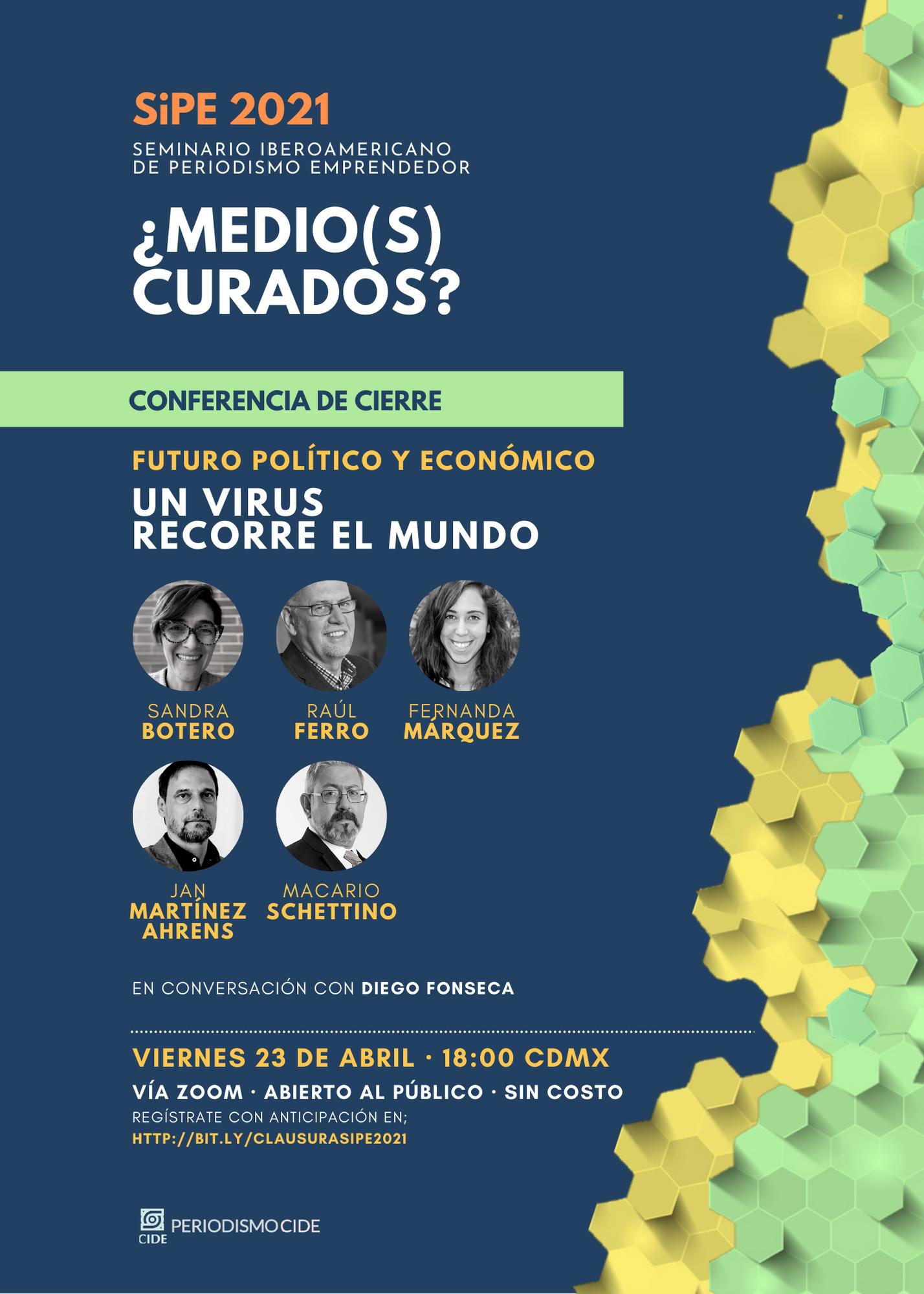 Conferencia: Un Virus Recorre el Mundo