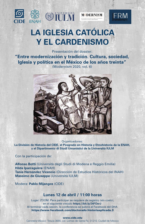 """Presentación del dossier: """"Entre modernización y tradición. Cultura, sociedad, Iglesia y política en el México de los años treinta"""" (Modernism 2020, vol. 6)"""