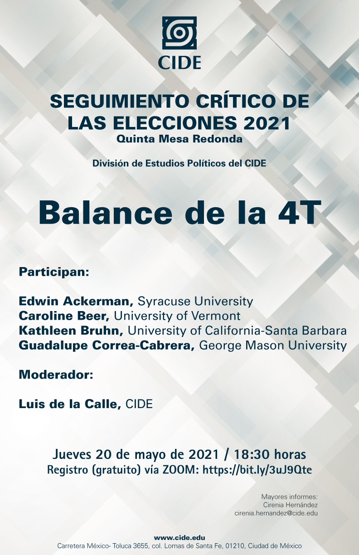 SEGUIMIENTO CRÍTICO DE LAS ELECCIONES 2021: Balance de la 4T
