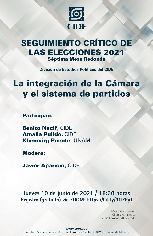 SEGUIMIENTO CRÍTICO DE LAS ELECCIONES 2021: La integración de la Cámara y el sistema de partidos