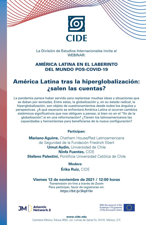 Webinar: América Latina tras la hiperglobalización: ¿salen las cuentas?